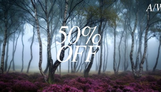 Autumn & Winter 50% Off Sale!